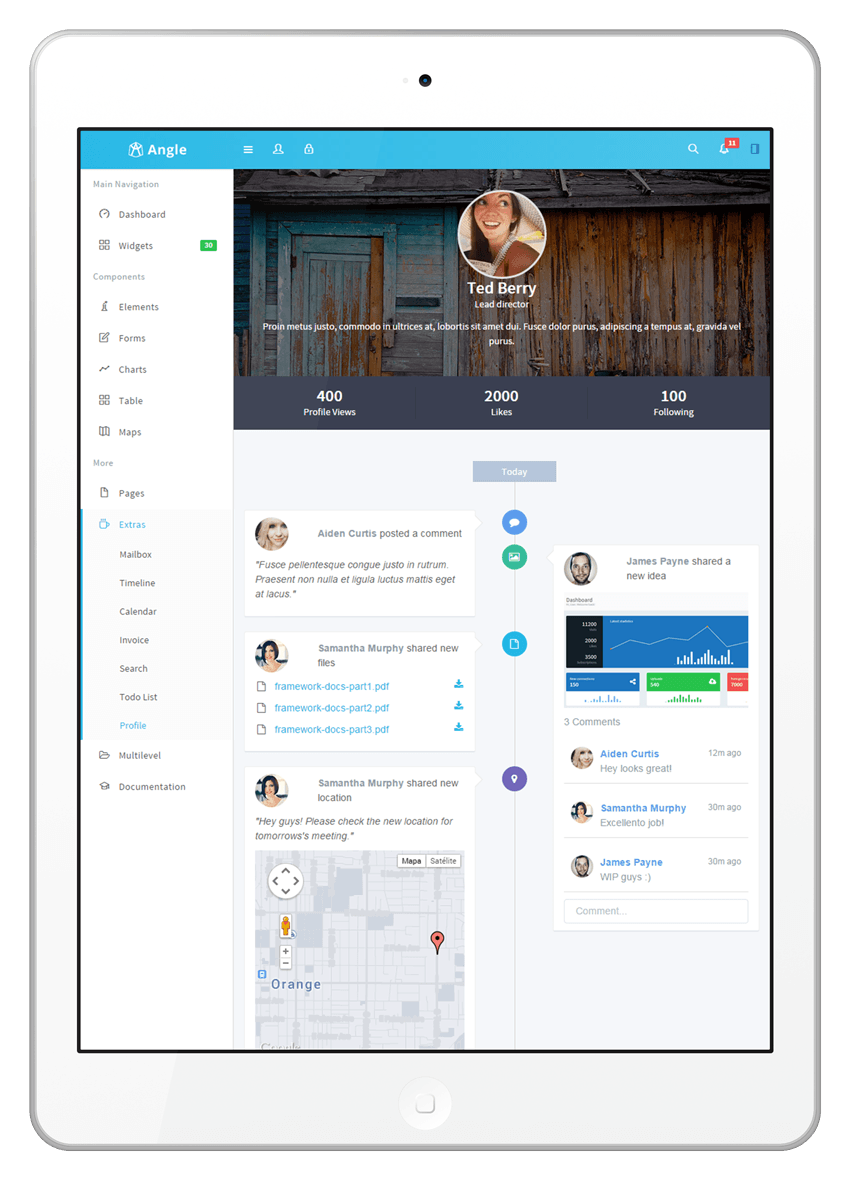 angle bootstrap admin template live preview wrapbootstrap